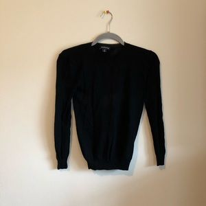 Trouve xs sheer long sleeve top